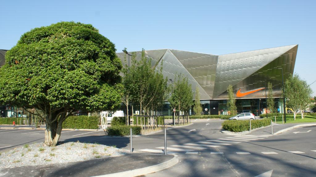 Espace vert espace d co - Centre commercial enox ...